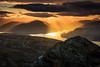 View from Ben Venue (GenerationX) Tags: sunset mountains water clouds landscape evening scotland nationalpark unitedkingdom dusk scottish neil gb trossachs lochlomond barr benlui benvenue lochkatrine stronachlachar beinnchabhair locharklet kinlochard beinnachroin stobachoin cruinnbheinn beinnachoin rubhanamoine lochtinker rubhanammult