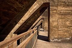 Landschapspark Duisburg (jo.misere) Tags: brown lines germany industrial landschaftspark duisburg industrie bruin lijnen duisland 1460962
