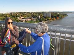 Dutchess County, NY-15.08 (davidmagier) Tags: usa newyork sunglasses scenic aerial fallfoliage poughkeepsie aruna mataji