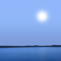 Moonrise Kingdom - Explore Position No. 194 [July 21, 2016] (lawroberts) Tags: blue moon azul night maine minimal bleu moonrise minimalism minimalismo nuit minimo minimalist minimalista minimaliste minimalisme minimalismus minimale mnimo