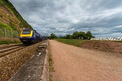 Teignmouth (Marklucylockett) Tags: devon 2016 marklucylockett july teignmouth uk hs125 greatwesternrailway first trains