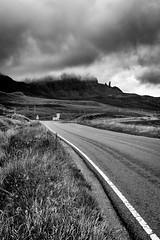 The Needle (haqiqimeraat) Tags: sky scotland nikon 2485 monochrome