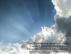 Jesus rays..... (Kevin Povenz) Tags: 2016 july kevinpovenz weather westmichigan michigan kentcounty kent sky lookingup cloudy sun sunlit jesusrays jesus