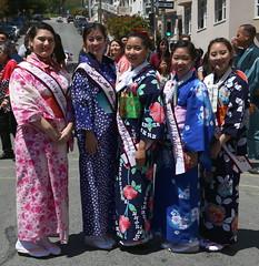 78th Ginza Bazaar & 85th Bon Odori (beppesabatini) Tags: 78thginzabazaar85thbonodori obon buddhistchurchofsanfrancisco japantown california streetfestivals kimonos beautyqueens churchbazaar buddhist buddhistchurchesofamerica