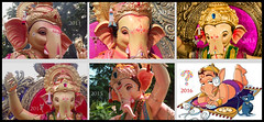 The Mumbai Cha Raja Collage (Prathamography by Prathamesh Kini) Tags: god lord ganesh idol mumbai ganpati ganeshotsav