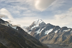MOUNT COOK (tommy0620) Tags: new travel landscape natural hiking cook adventure mount zealand summit highest the of expendtion