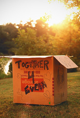 (Jordan Thompkins) Tags: sunset summer stilllife sun childhood fun outdoors kid warm play friendship box secret nostalgia nostalgic imagination series playtime simple tb childish throwback tbt aesthetic summ