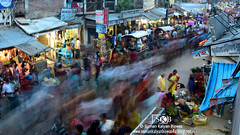 Life Goes On (Suman Kalyan Biswas) Tags: street people india moving place market outdoor crowd streetphotography motioncapture motionblur marketplace streetview stationary slowshutterspeed westbengal blurring longshutterspeed manualmode publicplace smearing longexposurephotography bethuadahari peoplepanning nakashipara bethuadaharimarket