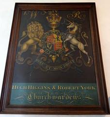 Stoke Goldington, Buckinghamshire (Sheepdog Rex) Tags: royalarms stpeterschurch stokegoldington