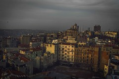 Last light (Syahrel Azha Hashim) Tags: street city travel houses light sunset vacation holiday detail building colors beautiful architecture clouds 35mm buildings turkey prime colorful cityscape view getaway sony details crowd scenic skylines naturallight nopeople istanbul handheld shallow simple dramaticsky cramped clearsky dense 2016 highdensity a7ii colorimage sonya7 syahrel highlypopulated ilce7m2