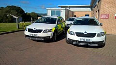 Then there were three.... (scotttheporg) Tags: nhs ooh skoda dgnhs