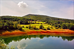 Lake Bor (Katarina 2353) Tags: summer film landscape nikon europe serbia srbija katarinastefanovic borskojezero katarina2353 lakebor