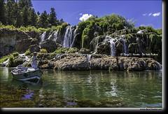 Fishing Idaho (Daryl L. Hunter - Hole Picture Photo Safaris) Tags: daryllhunter unitedstates usa flyfishing idaho swanvalley fallcreekfalls waterfall fising