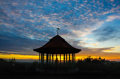 Horniman Bandstand at sunset (Zed.Cat) Tags: horniman museum sunset bandstand silhouette london england southlondon se23