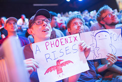 C9 vs P1 (lolesports) Tags: nalcs nalcssummersplit2016 p1 phoenix1 summersplit2016 week8day3 fan fansign crowd rammus ok losangeles california usa