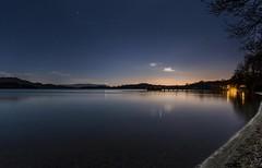 Luss, Scotland. (danielhammond1) Tags: night stars lochlomond water reflection luss