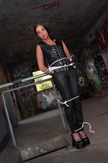 DSC_0592 (The Damsel Project) Tags: damsel distress bondage tied