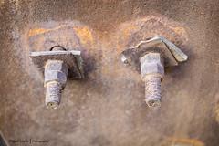 Detalles II  //  Details II (Miguel Lpez Soler - E.) Tags: details rust ruins abandoned metal detalles oxido ruinas abandonado miguellpezsolere launin espaa spain