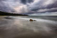 Faux Granite (Crouchy69) Tags: sunrise dawn landscape seascape ocean sea water coast rocks clouds sky meelup beach dunsborough western australia