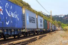 TECO (Escursso) Tags: 253 253018 253062 barcelona bombardier castellbisbal catalunya freight llobregat mercancias renfe teco trainspotting traxx railway s253 summer train tren