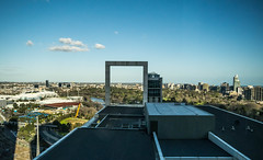 41X_VIEW (JLangus) Tags: city skyline melbourne frame architecture view trees river mcg