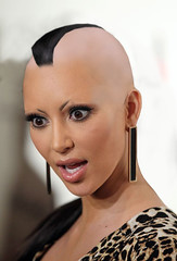 Kim Kardashian mohawk (marisabuffagni) Tags: kim kris khloe kourtney kardashian jenner bald buzzed tonsured wig shaved scalp smooth bare liscia pelata calva rasata rapata tosata zero pomo clipper macchinetta capelli stile style hairstyle hayrlook look eyebrow eyebrows sopraciglie depilate depilata ceretta wax waxed