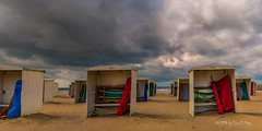 No sunny Sunday at the beach (Toon E) Tags: 2016 holland netherlands nederland katwijkaanzee beach sea summer outdoor sony a7rii sonyfe2470mmf4 clouds colours afternoon