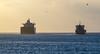 Bolivar Roads At First Light (Matt D. Allen) Tags: maritime bolivarroads houstonshipchannel shipspotting