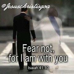 Isaiah 41:10 So do not fear, for I am with you; do not be dismayed, for I am your God. I will strengthen you and help you; I will uphold you with my righteous right hand. (Jesus Christ Is God) Tags: god love follow pray blessed prayers biblequotes bible jesus bibleverse jesusfreak jesuslovesyou christian christianquotes jesusisgod wordofgod church worship fellowship faith food instagood tbt photooftheday ff instafollow l4l tagforlikes followback me cute followme happy beautiful girl like selfie picoftheday summer fun smile friends like4like instadaily fashion igers instalike