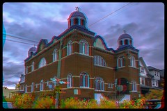 1st Russian Congregation, Toronto 3-D / Anaglyph / Stereoscopy / HDR / Raw (Stereotron) Tags: toronto to tdot hogtown thequeencity thebigsmoke torontonian downtown synagogue jewish temple kensingtonmarket north america canada province ontario anaglyph anaglyph3d redcyan redgreen optimized anaglyphic anabuilder 3d 3dphoto 3dstereo 3rddimension spatial stereo stereo3d stereophoto stereophotography stereoscopic stereoscopy stereotron threedimensional stereoview stereophotomaker stereophotograph 3dpicture 3dglasses 3dimage twin canon eos 550d yongnuo radio transmitter remote control synchron in synch kitlens 1855mm tonemapping hdr hdri raw