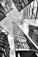 To the Sky (michel1276) Tags: geometrisch hochhaus skyline linien architektur einfarbig gebude berlin potsdamerplatz