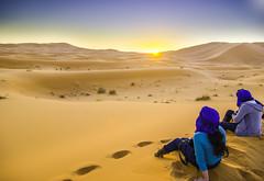 hdr (IDonttrustYou) Tags: sunset sahara desert morocco maroc merzouga