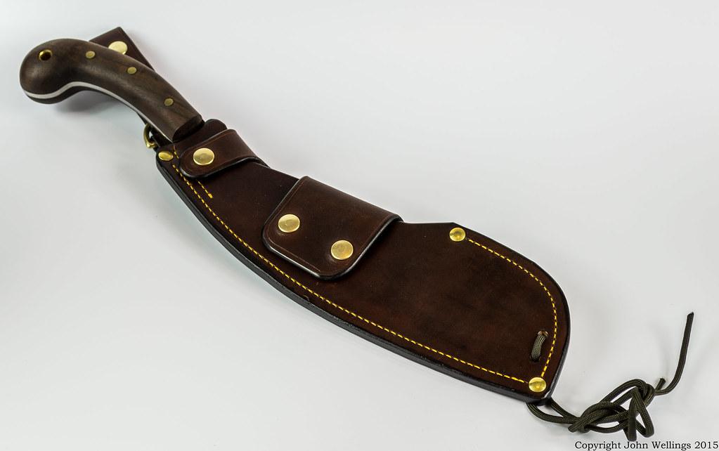 Leather sheath bondage true answer