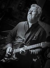 """Blues Face"" (Rob Clowes) Tags: musician music 35mm fuji guitar gig livemusic band blues fujifilm strat guitarist goodfellas stratocaster lightroom bluesband 35mmf14 xpro1 fujixpro1"