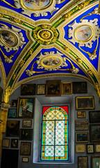 Votive Pictures (sapissipas) Tags: blue church switzerland tessin ticino sony hdr nex photomatix madonnadelsasso nex7
