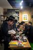 ma jia & zhu wenbo on mechandising (Sub Jam) Tags: japan concert performance event miji artlounge multipletap meridianspace