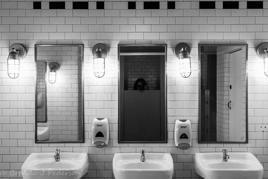 The Things You See In Mirrors Culinary Fool Tags Seattle Light Bw Reflection
