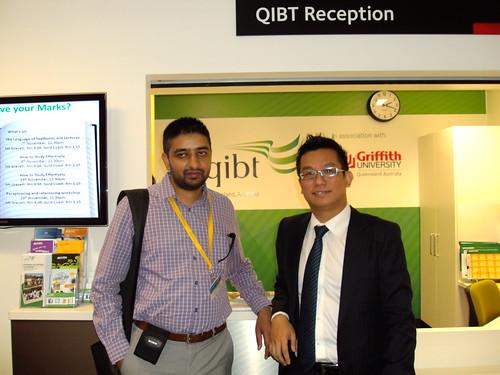 Director Mr. G.S.Kang At QIBT, Australia