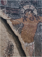Cracked Jesus (Giorgio Verdiani) Tags: slr saint rock stone digital turkey ruins christ cross zoom stones digitale jesus türkiye olympus september caves pietre fallen vault cristo roccia pietra survey settembre zuiko cracked santo turkish volta cappadocia grotta 2012 8mp croce anatolia göreme rovine goreme evolt turchia kapadokya crucifiction rupestre caduta e500 rilievo gesù crocifissione fourthirds 40150mm rupestrian spaccato quattroterzi digitalsurvey rilievodigitale