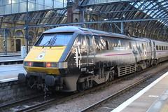 91110 (matty10120) Tags: old travel london station train coast cross transport railway battle class east kings 91 briton of 91110