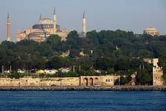 Hagia Sophia IMG_4284 (SunCat) Tags: bosphorus straight turkey europe asia travel vacation 2016 all barenecessities cruise hagiasophia mosque goldenhorn