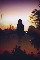 Recorrer el camino (Conserva tus Colores) Tags: dobleexposicin carretera sky sunset skyporn chile girl colores conservatuscolores contraluz luces landscape magic lovenature naturelovers love beautiful