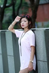 DP1U8653 (c0466art) Tags: young little sweet lovely cute girl taiwan pure pretty face action pose funny elegant charming gorgeous outdoor portrait light canon 1dx c0466art