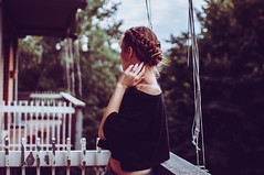 Something / (kristinabychkova2) Tags: hairstyle hair braid camera nikon d90 sigma 30mm self