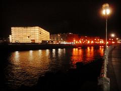 Donostia at night (Josu Sein) Tags: donostia gipuzkoa night nightlife lightsinthedark dark urban landscape instagram