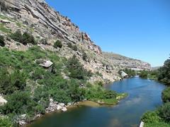 The Popo Agie River (jimmywayne) Tags: statepark river wyoming sinks lander fremontcounty sinkscanyon popoagieriver