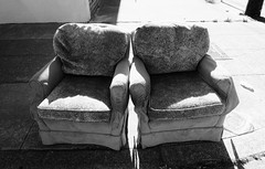 The Married Couple (Bart D. Frescura) Tags: couch bartdfrescura lightandshadow lightanddark outdoor califorina