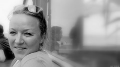 Valerie (jaap spiering | photographer) Tags: portrait blackandwhite bw woman girl monochrome face closeup mouth hair eyes women noiretblanc zwartwit femme dream lips portret vrouw femmes vrouwen gezicht gx8 jaapspiering jaapspieringphotographer jaapspieringfotografie