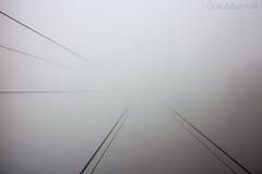 Vers un monde inconnu (arnaudglauser) Tags: mountain fog canon landscape photography switzerland photo photographie swiss foggy like photograph brouillard ropeway stanserhorn