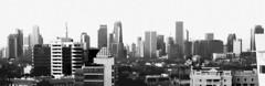 2016-07-04 19.02.30bw (MYW_2507) Tags: skyline cityscape skyscrapers jakarta highrises blokm kebayoranbaru